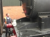 Steam train at Pickering