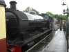 Steam train at Pickering