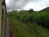 On a steam train