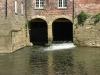 Water under mill