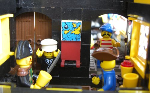 Pirates in their cabin