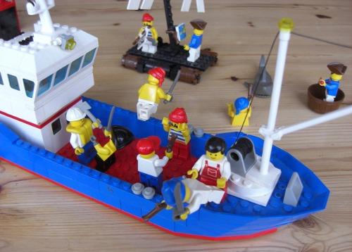 Crew recapturing the ship