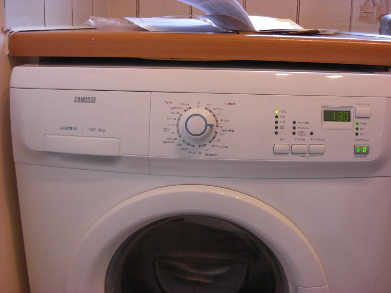 school washing machine