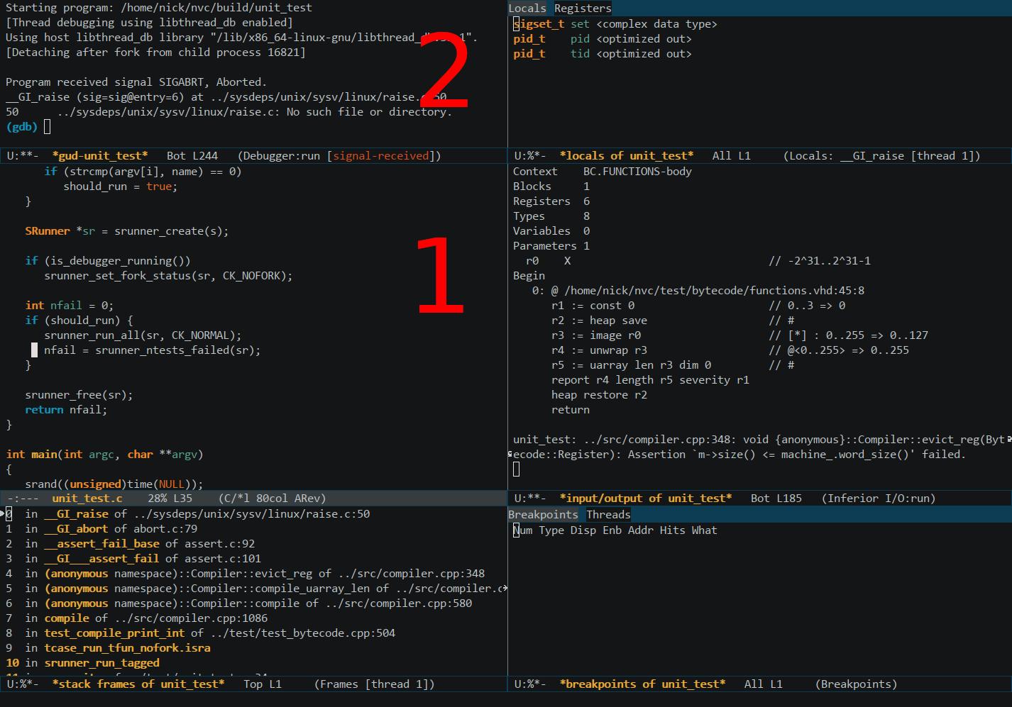 Making Emacs GUD Usable   doof me uk